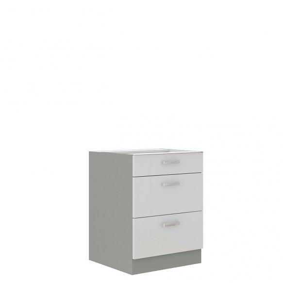 Alsó szekrény fiókokkal Multiline 60 D 3S BB