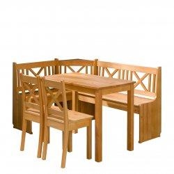 Xsanos konyhasarok + asztal + két szék