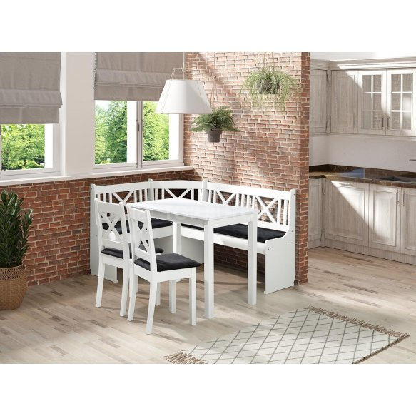 Xsanos 1 konyhasarok + asztal + két szék